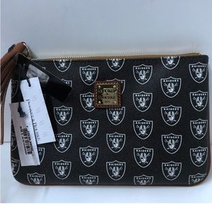 New Dooney & Bourke NFL Raiders Clutch